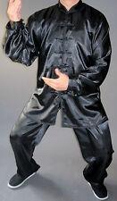 Kung Fu Anzug Tai Chi Qigong Gongfu Taiji schwarz