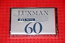 LUXMAN    XN-I  C-60         BLANK CASSETTE TAPE (1) (SEALED)