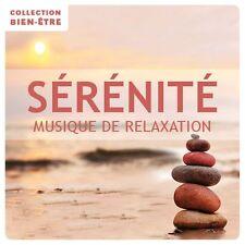CD Sérénité / Collection Bien-être : Musique de relaxation - Manu Maugain