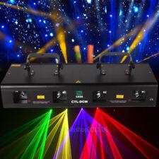 460mW 4Beam Red Green Purple Yellow Laser Light DMX Stage DJ Bar Party Show Club