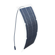 18V 10W Flexible Solar Panel Transparent Mono Module Diy Toy Kit Outdoor Charger
