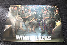 "Christian Slater SIGNED AUTOGRAFO SU 20x29 cm ""Windtalkers"" poster foto look"