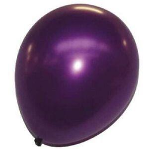 LOT 20/50/100 Ballons Nacrés VIOLET - Haute Qualité 3,2 grs - Latex 30 cm