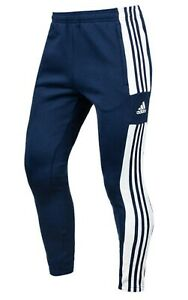 Adidas Men Squadra 21 Pants Tapered Navy Jogger Casual GYM Sweat-Pant GT6643