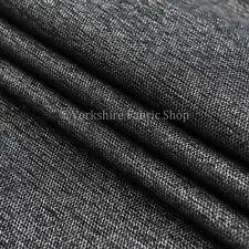Tessuti e stoffe nero in misto cotone per hobby creativi