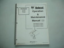 Bobcat Sweeper Gutter Brush 54 60 72 Inch Operation & Maintenance Service Manual
