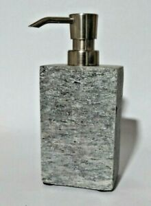 Project 62 Stone Slate Soap/ Lotion Chrome Pump Dispenser