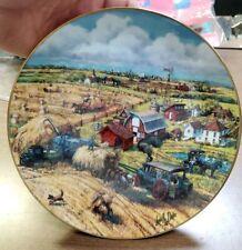 Down On The Farm The American Farmer 1991 Danbury Mint Collector Plate Cp33