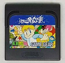 SEGA GAME GEAR FACTORY PANIC  (cartridge only)