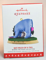 Hallmark: Not Much Of A Tail - Eeyore - Winnie The Pooh - 2016 Ornament