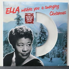 ELLA FITZGERALD 'Wishes You A Swingin Christmas' WHITE Vinyl LP NEW/SEALED