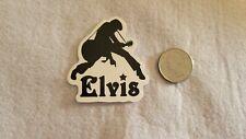 Black and White Elvis Sticker