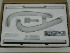 """New In Box NOS Truth Hardware Sliding Glass Patio Door Handle Set 1"""" Arc White"""