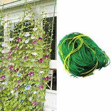 Trellis Garden Climbing Net Mesh Plant Support Nylon Green Bean Cucumber Ropes