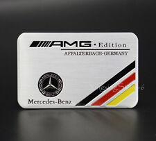 1Pcs Car Modified Sport Emblem Badge Sticker AMG Logo Fits for Mercedes Benz