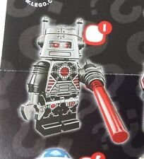 Lego 8833 Series 8 #1 EVIL ROBOT figure Collectible Minifigure New Sealed Pack