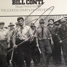 Sylvester Stallone F.I.S.T. Signed 12 inch VINYL Cover AFTAL