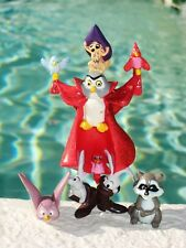 Disney Sleeping Beauty Owl as Prince Phillip Animals PVC Figure Cake Topper Toy
