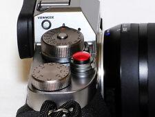 Pro Quality Shutter Button Soft Release Metal Convex Red Fuji X-Pro1 XE3 X-Pro2