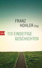R*14.11.2016 113 einseitige Geschichten von Franz Hohler (Hrsg.)
