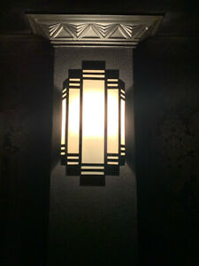 Art Deco Sconce - wall lights 1930's style cinema theatre