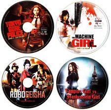 SUSHI TYPHOON 4 FILMS  DVD