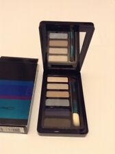 NIB MAC Enchanted Eve Eyes Navy Eye Shadow Palette Brush 6 Colors City Beat Blue