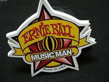 """Ernie Ball Music Man Electric Guitar Bass 5"""" Sticker"""