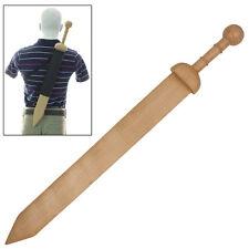 Medieval Round Pommel Gladius Roman Gladiator Training Sword FREE Sheath Combo
