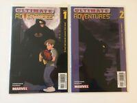 Ultimate Adventures #1 2 Marvel Comics (2002) VF/NM