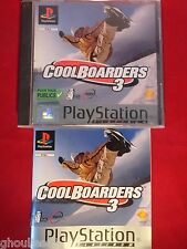 COOL BOARDERS 3 PLAYSTATION 1 COOLBOARDERS 3 PS1 PSONE PS2 PS3
