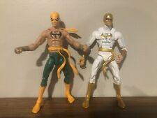 Marvel Legends Lot Of 2 Iron Fist Immortal Fists Danny Rand Loose Figures