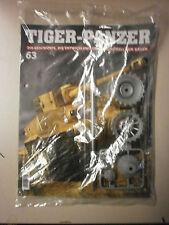Hachette, Modellbau,Tiger-Panzer Nr. 63, Neu & OVP