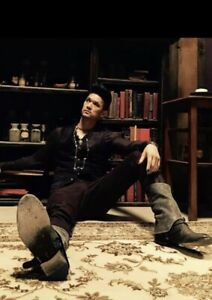 Shadowhunters Magnus Bane Boots - Harry Shum Jr. - Shoes From The Show! Glee