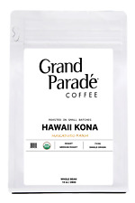 Organic 100% Hawaiian Kona Fresh Medium Roasted Whole Coffee Beans, 10oz Bag