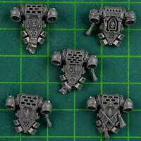 Blood Angels Tactical Squad Space Marines 5 Back Modules Warhammer 40k Bitz