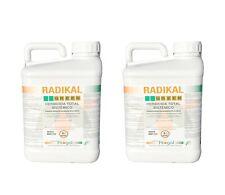 DISERBANTE Totale ERBICIDA 2 x 5L GLIFOSATE SISTEMICO Acido Puro 360 gr/lt