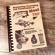 How To Home Process Meat Animals Preservation Butchering Equipment Tool Prepping
