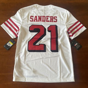 Nike Deion Sanders 49ers Color Rush Untouchable Limited Jersey Men's Small *NEW*