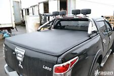 To Fit 15+ Mitsubishi L200 / Triton / Strada Soft Tonneau Cover Short Curved Bed