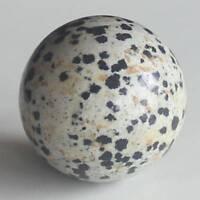 h41503 1.2''  Dalmation jasper sphere ball