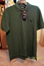 Men's Chaps 2 Button Front S/S Polo Shirt - NWT - Size Small