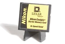 Lexar / Nikon Coolpix 16MB 8x Speed Rated CF Compact Flash Camera Memory Card