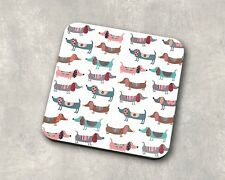 Dachshund - Sausage Dog - Coaster Gift - Thank You - Birthday One Coasters Only