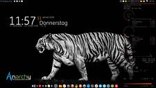 Anarchy Linux OS Live USB Arch Anywhere XFCE desktop