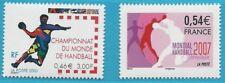 France From 2001/2007 Mint MiNr.3507, 4337 - WM