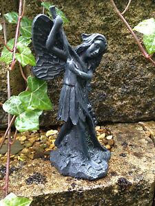 Beautiful Garden Fairy with Branch Ornament - Indoor or Outdoor