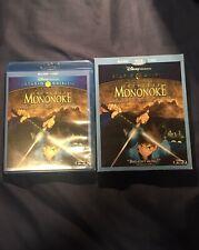 Princess Mononoke (Blu-ray/Dvd, 2014, 2-Disc Set) w/ Rare Oop Slipcover