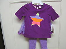 Purple 3-Piece Tutu Set by Kids Headquarters, Size 18 Months, NWT