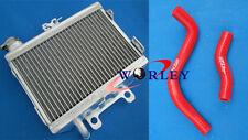 For Honda CR250 CR250R 1997 1998 1999 97 98 99 Aluminum Radiator + Silicone hose